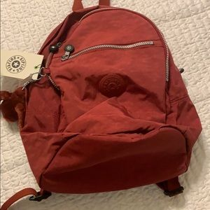 Rust Kipling backpack - great color - brand new!